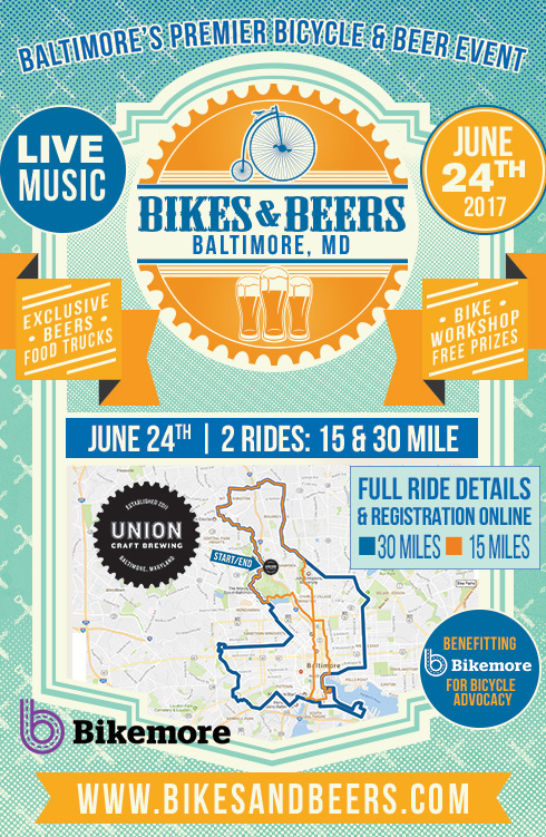 Baltimore md bikes beers for Union craft brewing baltimore md