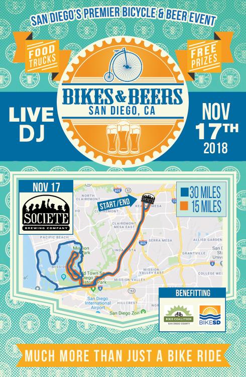 San Diego Ca Bikes Beers